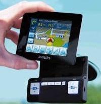 Philips autonavigatiesysteem-prototype