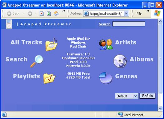 Anapod Explorer Xtreamer screenshot (resized)