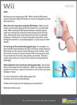 Waarchuwende Wii-folder