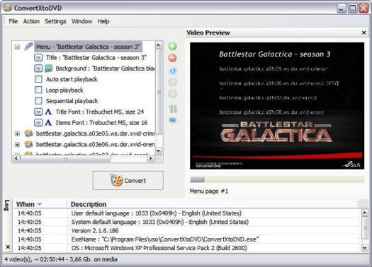 ConvertXtoDVD 2.1.6.186 screenshot (resized)