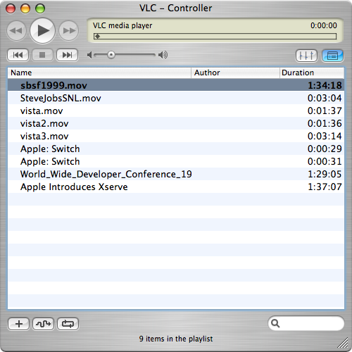 VLC Media Player 0.8.6 final