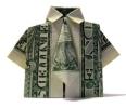 Origami met geld