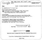 Google-patentaanvraag sitedesign