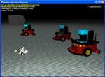Microsoft Robotics Studio simulatieomgeving