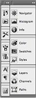 Photoshop CS3-toolbar