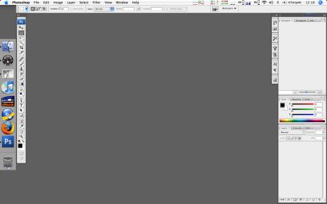 Adobe Photoshop CS3 - CS3 op de desktop (klein)