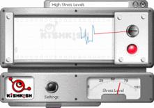 Interface Kishkish-leugendetector voor Skype
