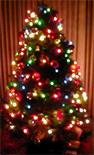 Kerstboom met Wii-verstorende lampjes