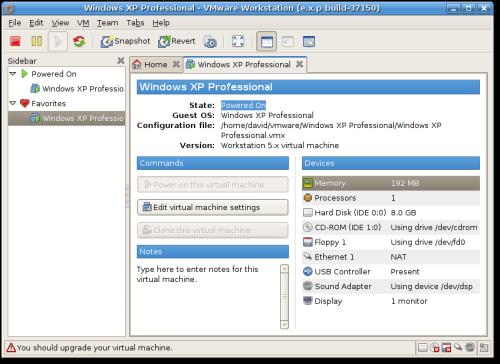 VMware 6 b�taversie Linux