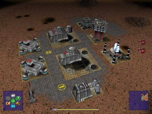 Warzone 2100 screenshot (resized)