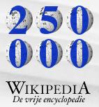Wikipedia Nederland - 250.000 artikels