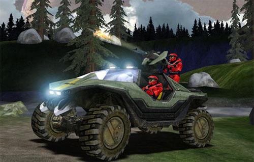 Halo-auto (vermoedelijk nog zonder carkit)