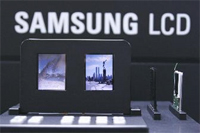 Tweezijdige Samsung-lcd-schermen