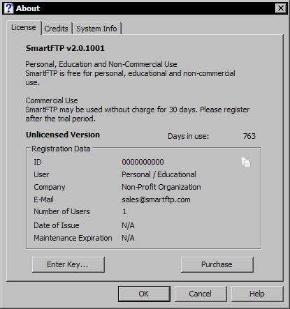 SmartFTP 2.0.1001.4