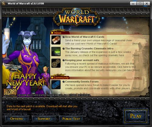 World of Warcraft updater