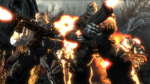 Gears of War: tweetal enthousiaste monsters