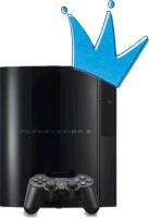 Playstation 3 met kroontje