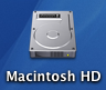 Mac OS X harddisk-logo