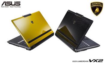Asus-Lamborghini VX2 notebook
