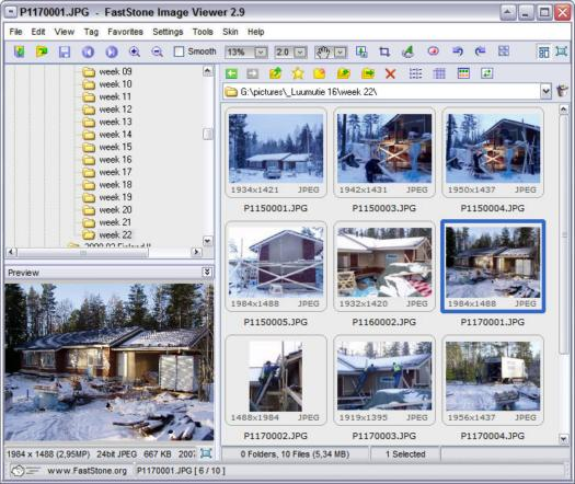 FastStone Image Viewer 2.9 screenshot (resized)
