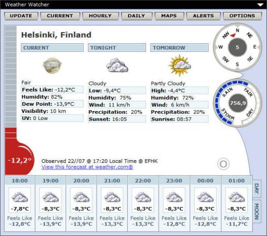Weather Watcher 5.6.17 screenshot (resized)
