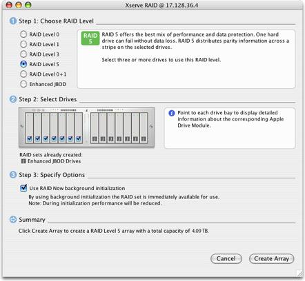 Apple Xserve RAID Admin Tools