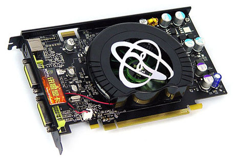 nVidia GeForce 8600-kaart