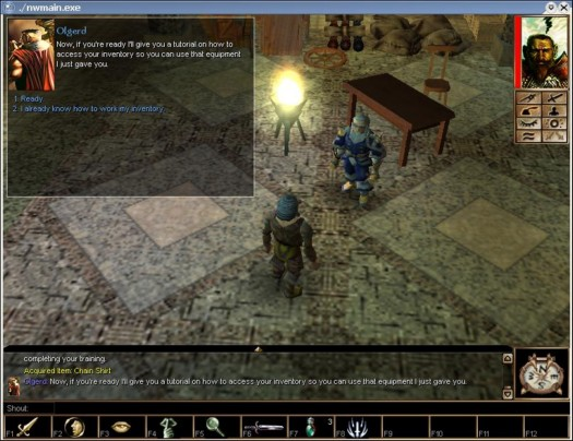 Neverwinter Nights onder Wine