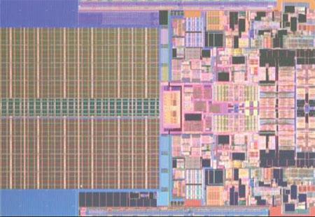 Intel Penryn 45nm chip