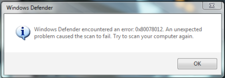 Windows Defender in Vista