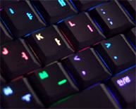 Luxiium Luxeed-toetsenbord (uitsnede zwarte versie)