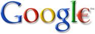 Google-logo met euroteken