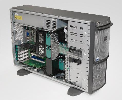Fujitsu-Siemens TX200 - Behuizing