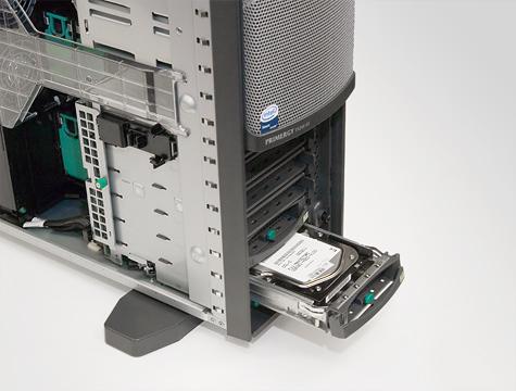Fujitsu-Siemens TX200 - Hotswap bays