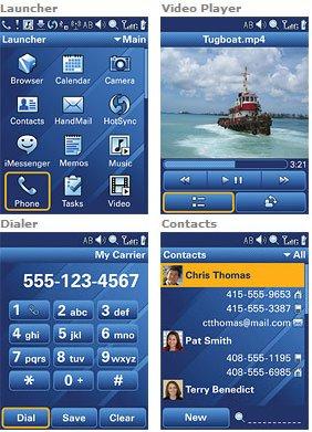 Screenshots Access Linux Platform 1.0