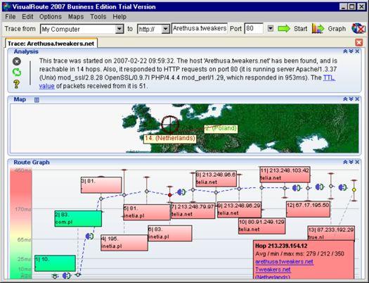 VisualRoute 2007 11.0e