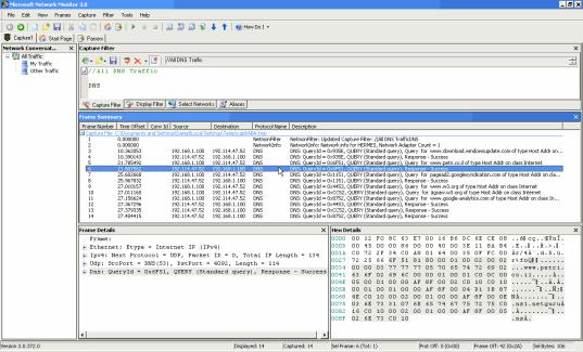 Microsoft Network Monitor 3.0 (klein)