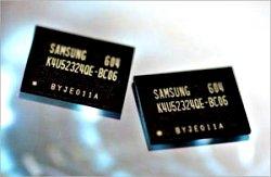 Samsung gddr4-geheugen.