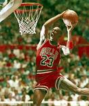 NBA-ster Michael Jordan dunkt dat het goed zit