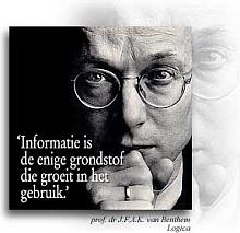 Prof. Van Benthem / Informatiegroei