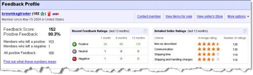 eBay: Feedback 2.0 (klein)