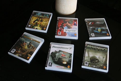 Sony Spac3 - games