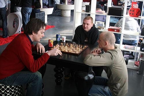Sony Spac3 - schaken