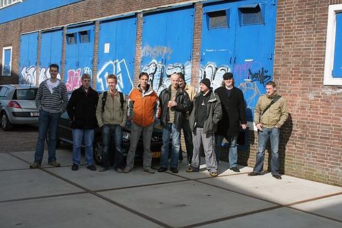 Sony Spac3 - groepsfoto van tweakers
