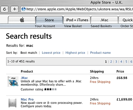 Apple acht-core Mac Pro @ Apple Store UK