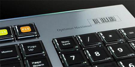 Art Lebedev Optimus Maximus-toetsenbord