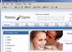 Malware Pharmacy Express