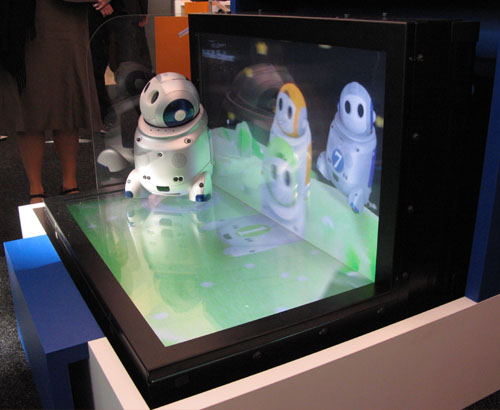 CeBit 2007: NEC 3d-scherm: hoofdpijn :(