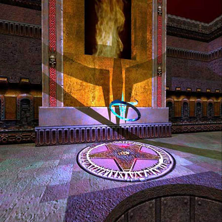 Ray-traced versie Quake 3
