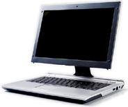 Intel-ontwerp van een laptop- en desktop-hybride (2006)